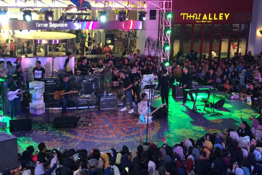 Gen FM Spesial Hari Musik Nasional di Summarecon Mall Bekasi