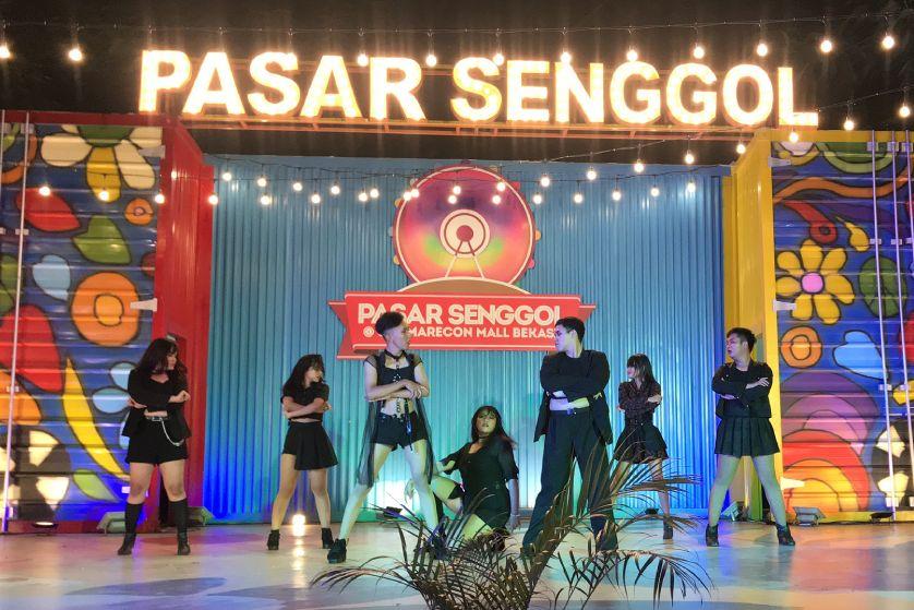 K-Pop Cover Dance Competitions di Pasar Senggol 2019
