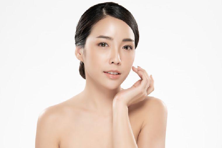 Korean Style Glass Skin Face
