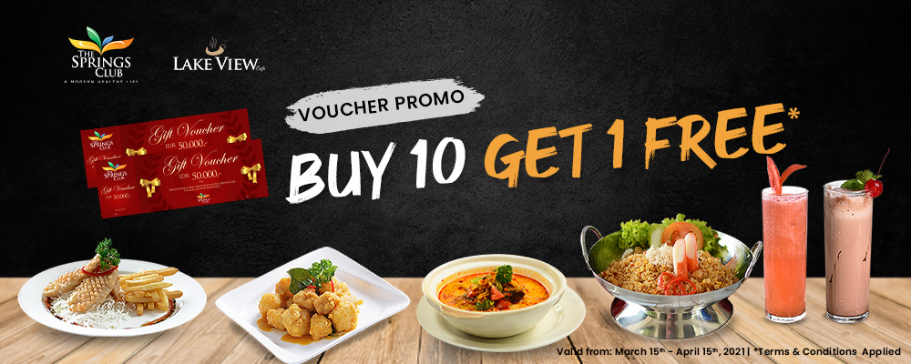 Lake View Cafe Voucher Promo