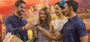Mengenal Kuliner Mancanegara di Wine & Cheese Expo