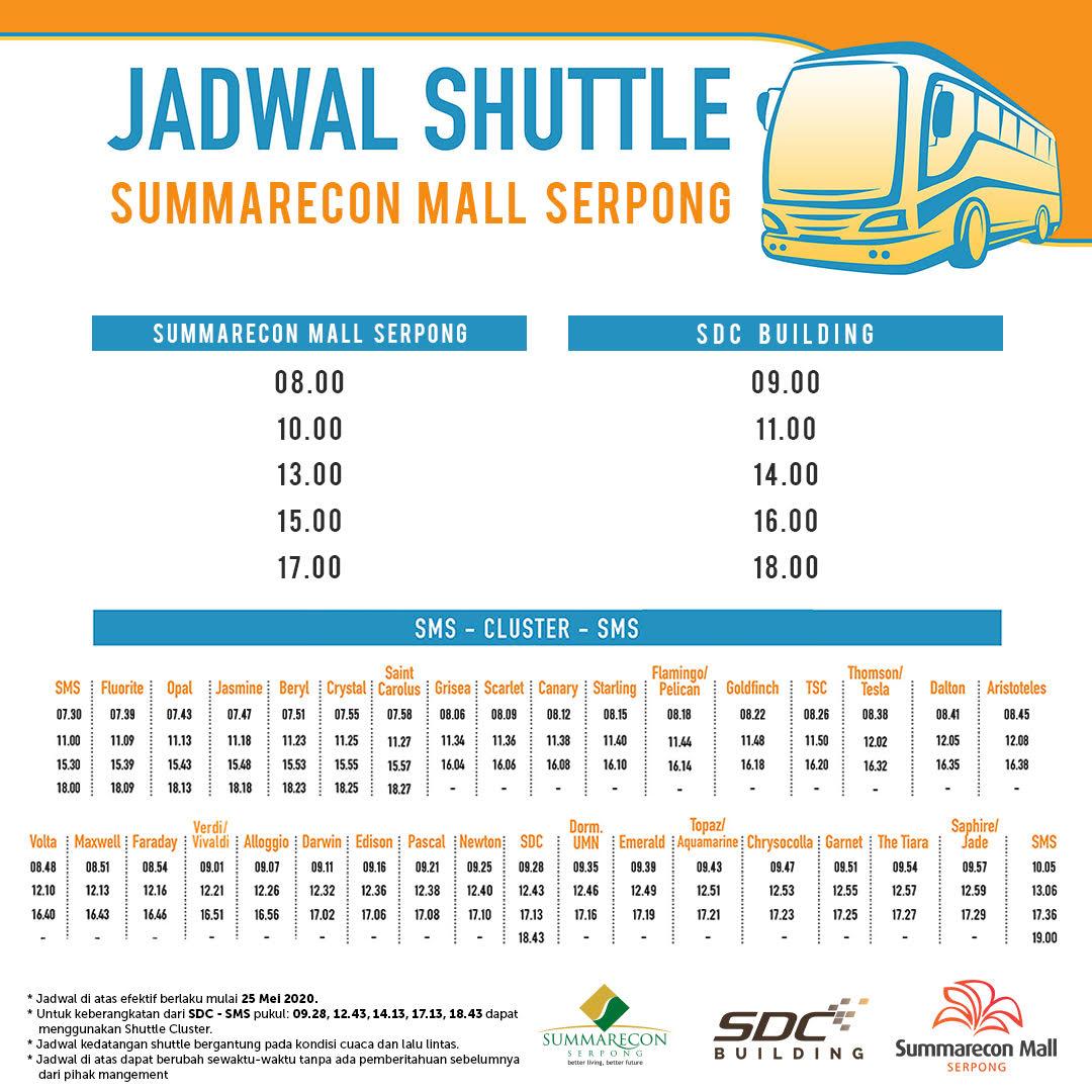 Update Jadwal Shuttle Bus