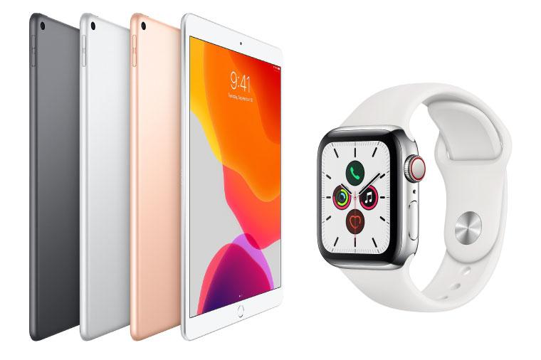 New Gadget iPad Air 3 & Apple Watch 5