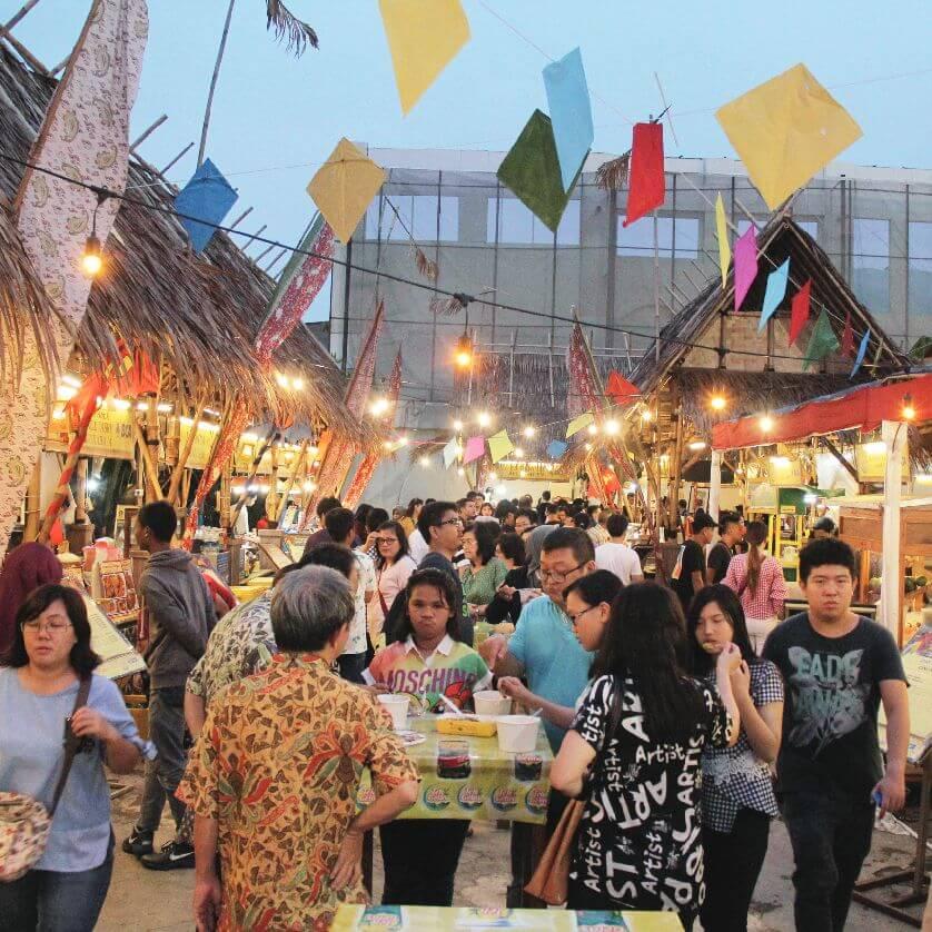 Nikmati Ragam Kuliner Legendaris di Kampoeng Tempoe Doeloe