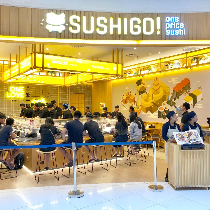 Nikmati Sushi lezat dengan Harga Terjangkau di Sushi Go