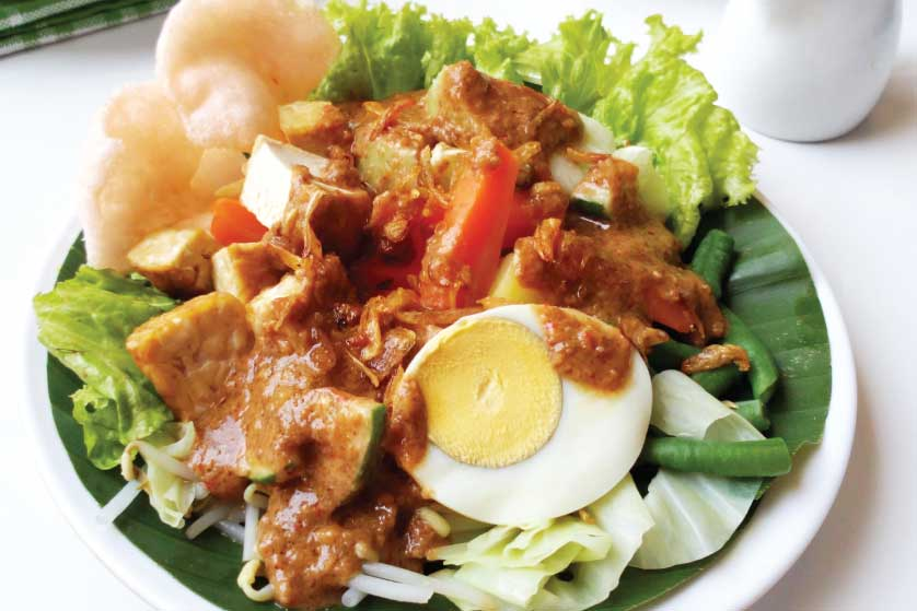 Salad ala Indonesia