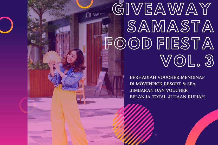 Samasta Food Fiesta Shopping Race