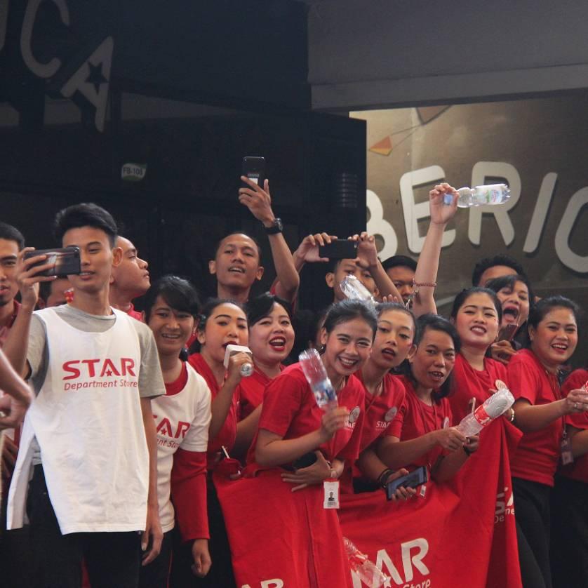Semangat Kemerdekaan August Rush Di Summarecon Mall Bekasi