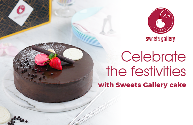 Sweets Gallery to your doorstep