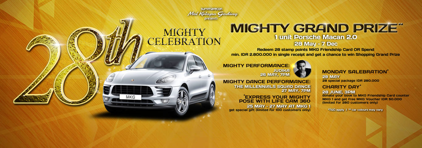 28th mighty celebration