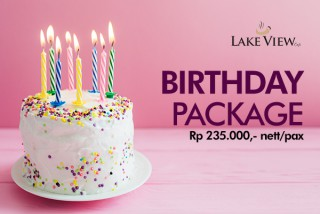 Birthday Package at Lake View Cafe