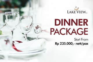 Dinner Package at Lake View Cafe
