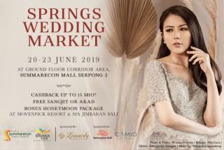 Springs Wedding Market is back!