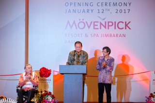 Summarecon Inaugurates The First 5 star Hotel Movenpick Resort & Spa Jimbaran Bali