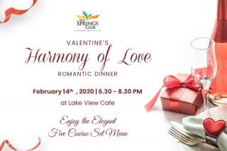 Valentines Harmony of Love