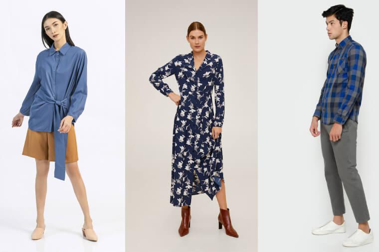 Tren 2020 Fashion dengan Nuansa Biru Klasik