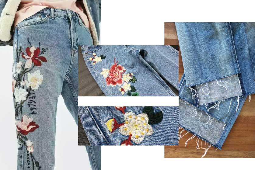 Tren Jeans yang Tak Biasa