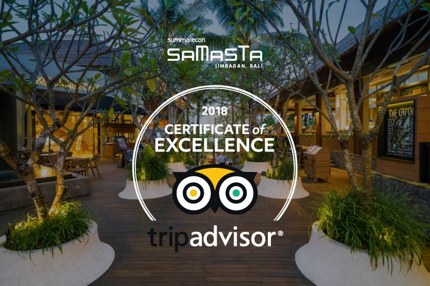 What a title: Certificate of Excellence from Tripadvisor!