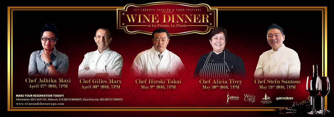 Wine Dinner 2016