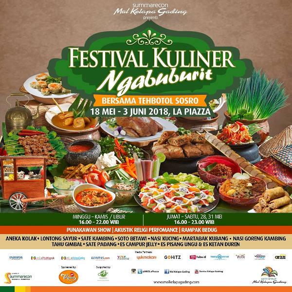 Festival Kuliner Ngabuburit 2018