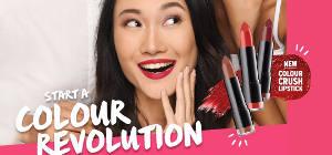 NEW Colour Crush Lipsticks!
