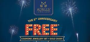 Adelle Jewellery is turning 5!