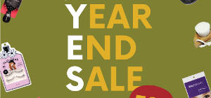 Year End Sale is Here!