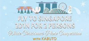 Fly To Singapore With Christmas Photo Competition