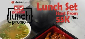 Lunch Set Start From 55K