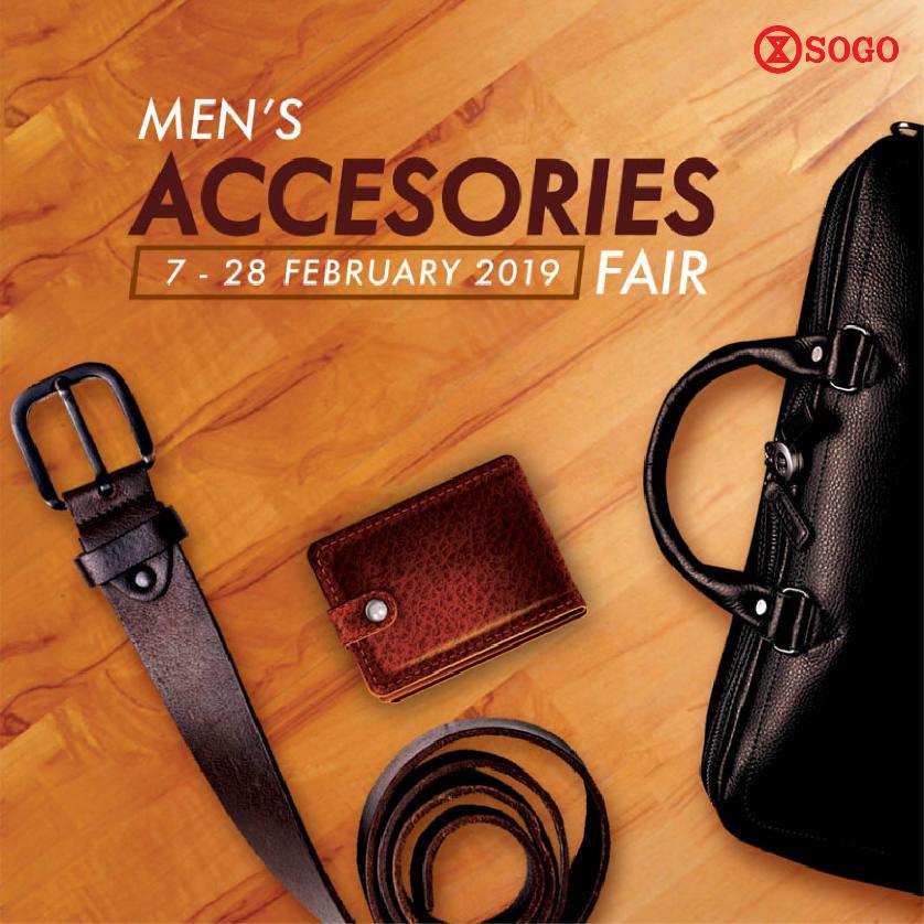 Men`s Accessories Fair!