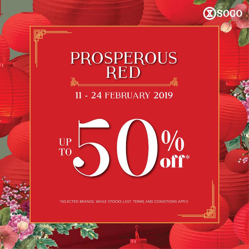 Prosperous Red!