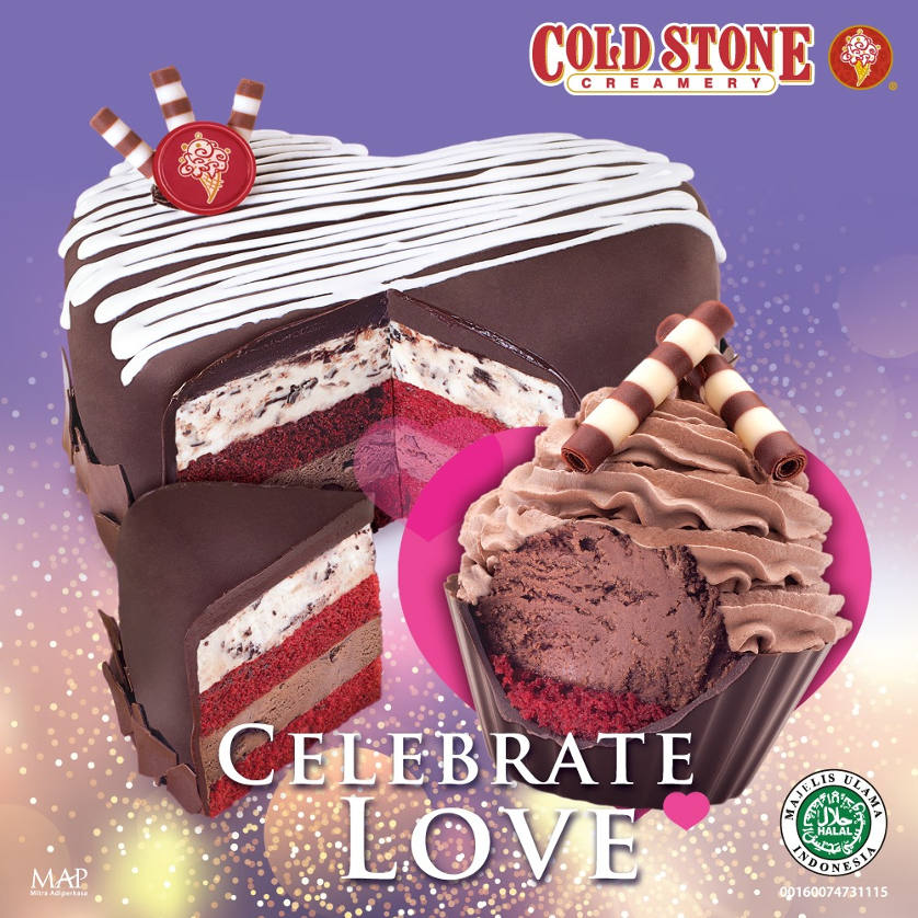 Celebrate Love with Cold Stone Cakes!
