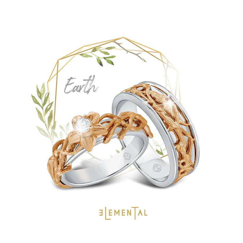 Wedding Ring Earth Series