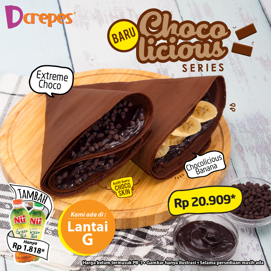 Chocolicious Crepes Series