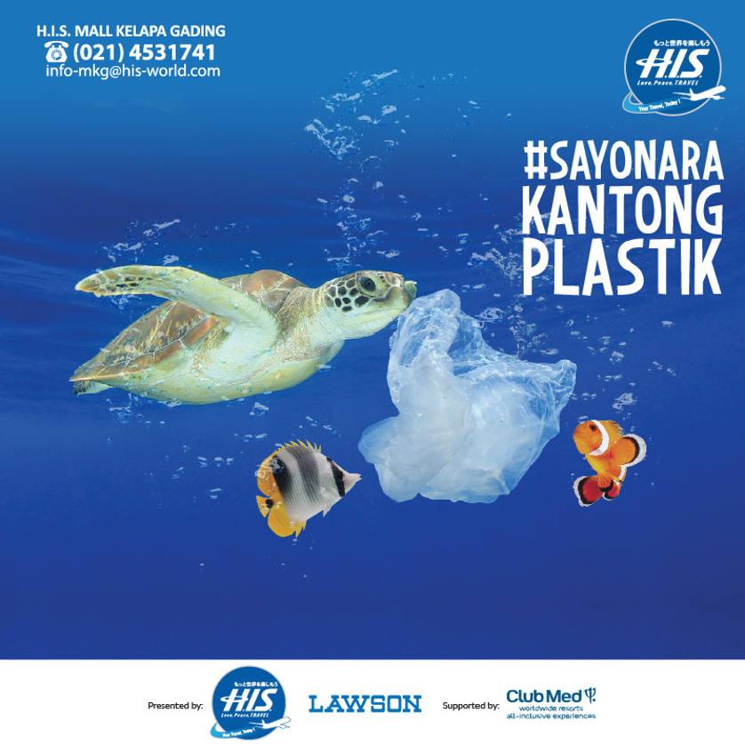 Sayonara Kantong Plastik