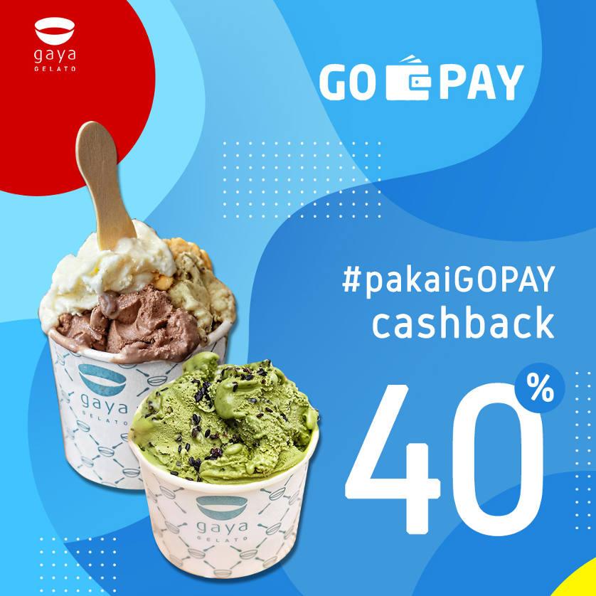 Gopay 40% Cashback !