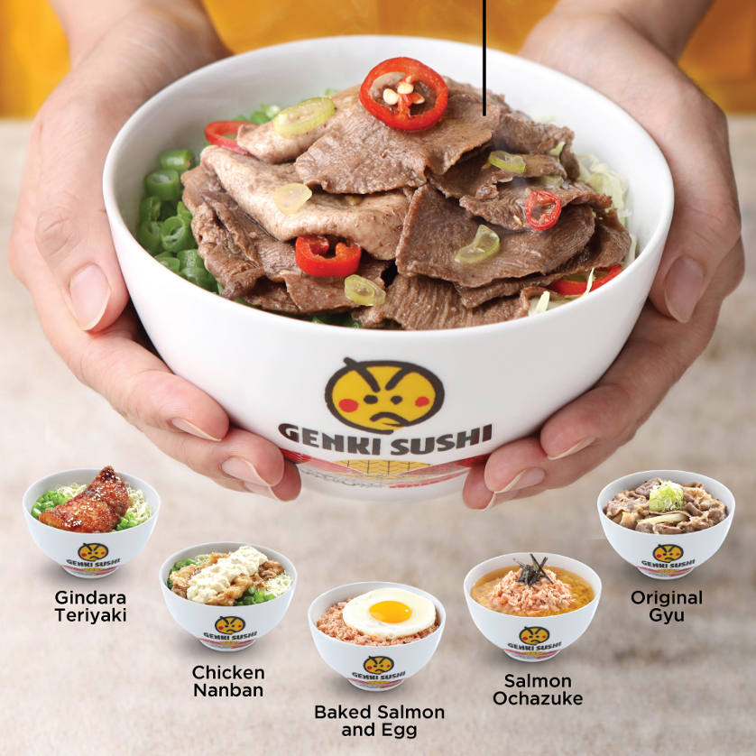 Get 6 Oishii Rice Bowl