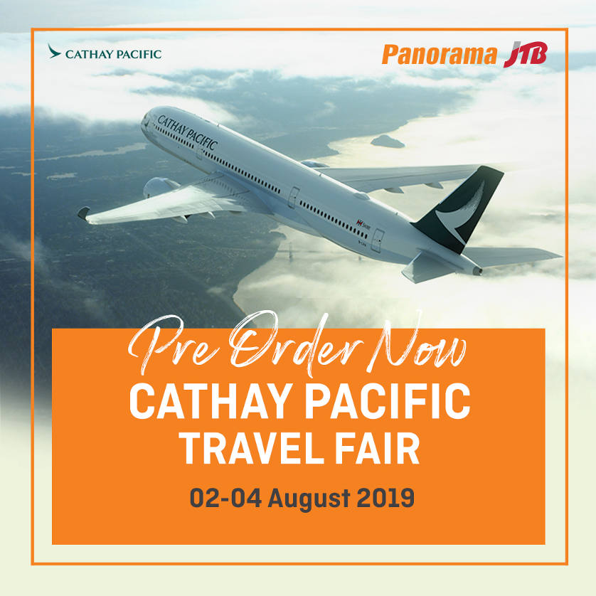 Cathay Pacific Travel Fair!