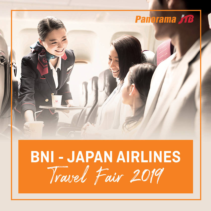 BNI - Japan Airlines Travel Fair 2019