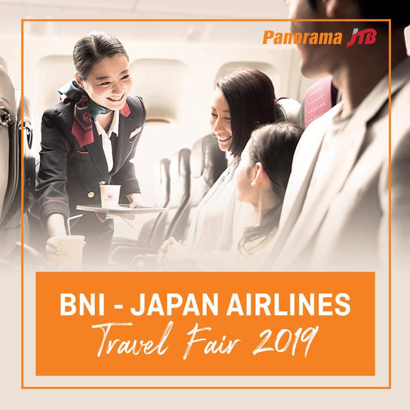 BNI - Japan Airlines Travel Fair 2019