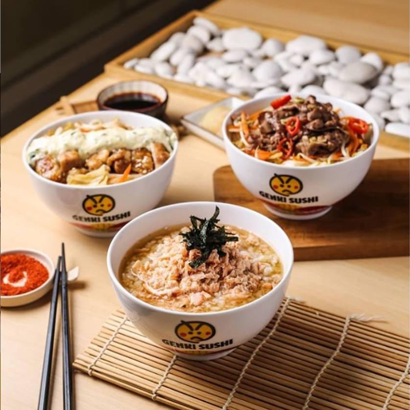Rice Bowl Genki Sushi