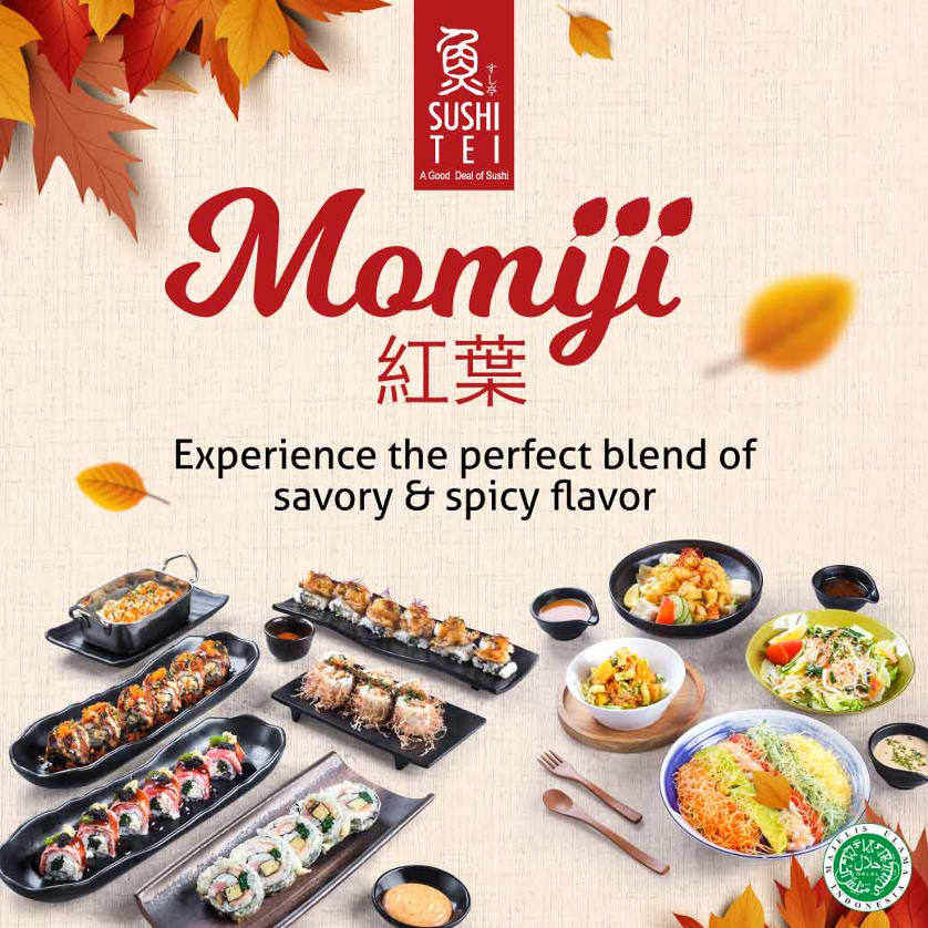 New Menu Momiji