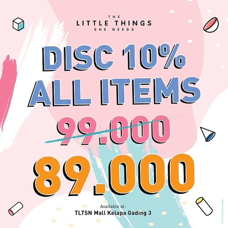 Disc 10% All Items