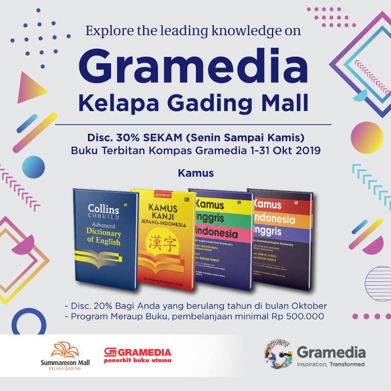 Gramedia Special October!