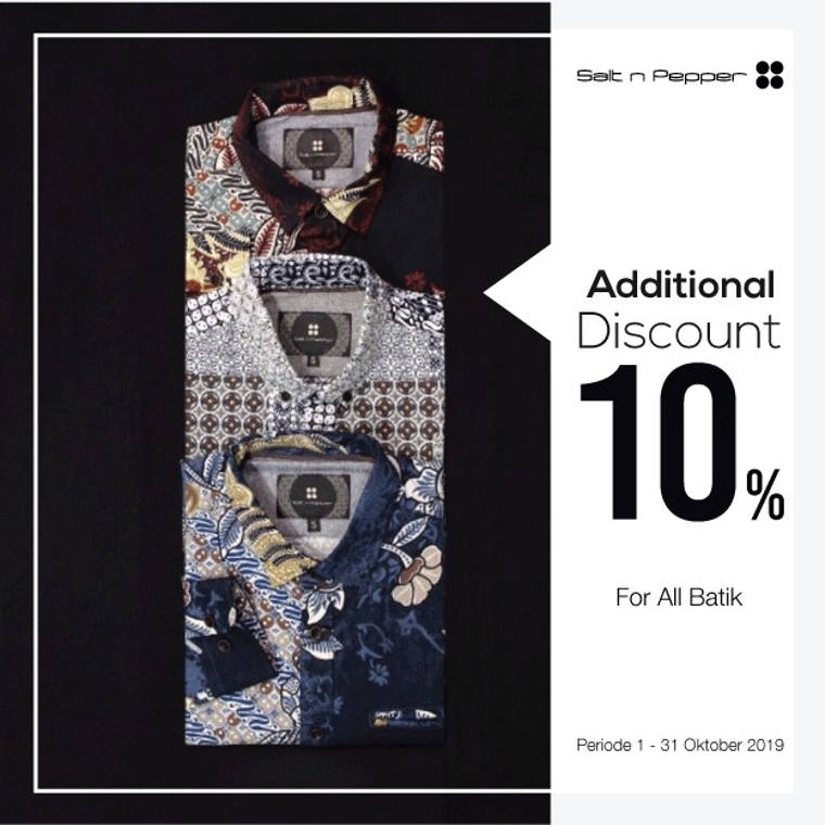 Get Additional Discount 10%