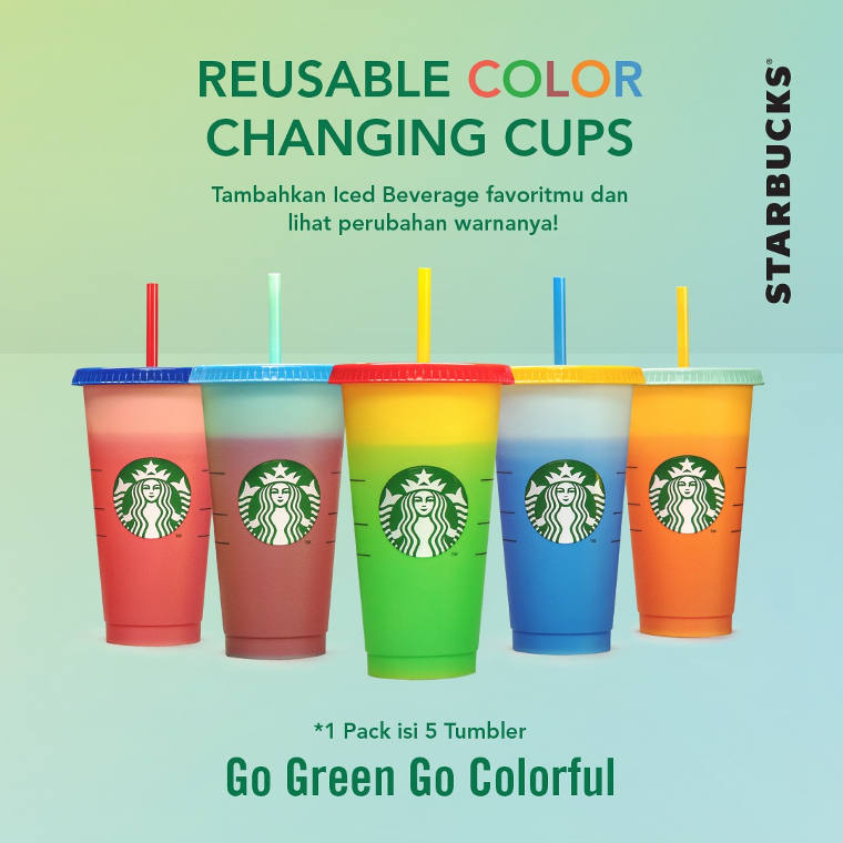 Reusable Color Changing Cups