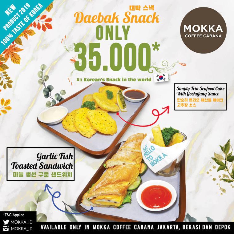 New Daebak Snack