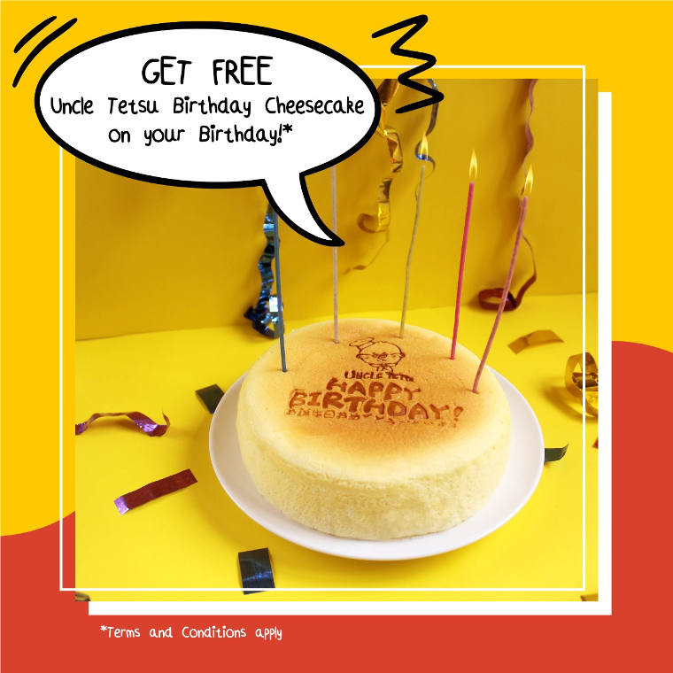 Enjoy Your Free Cheesecake!