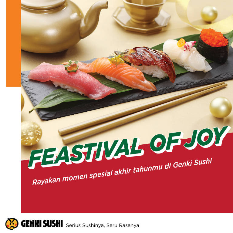 Holiday Package di Genki Sushi
