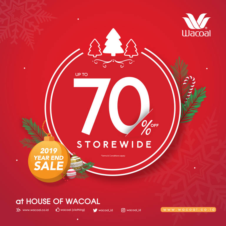 Early Christmas Promo Up To 70%